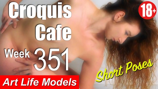351Croquis Cafe Figure Drawing Resource No. 351 (Short Poses)