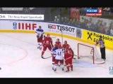 Хоккей Россия - Белоруссия - 2:1 Чемпионат Мира 2014