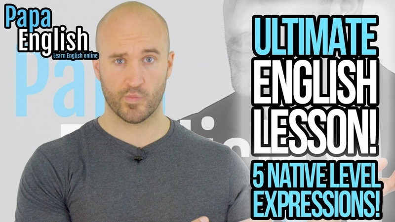 ULTIMATE ENGLISH LESSON! - Can you understand these 5 Native Level Expressions