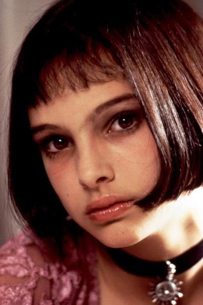 Портрет юной Натали Портман в роли Матильды в фильме «Леон».
