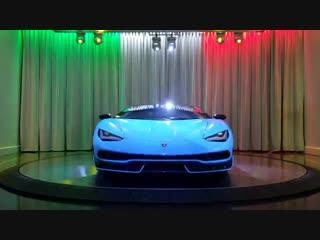Lamborghini Centenario Blu LeMans