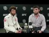 Интервью  Забита после боя на #UFC228 (2)
