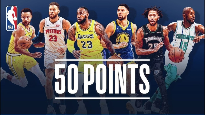 Every 50-Point Game So Far This NBA Season (LeBron, Steph Curry, Derrick Rose and More!) NBANews NBA