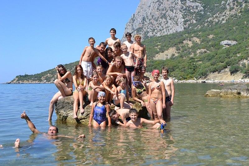 отдых детей в Крыму