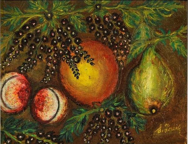 Удивительные картины французской наивной художницы Серафины Луи, которая была простой уборщицей, но при этом ее талант признали в Европе Серафина родилась в небольшой французской деревеньке в