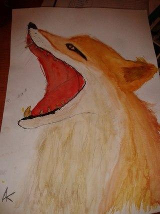 Наши рисунки красками