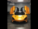 Frozen Papaya McLaren 720S