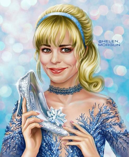 Знакомые лица: знаменитые актрисы в образах принцесс Диснея Наверное, все в детстве смотрели сказочные мультфильмы Диснея, а многие девчонки мечтали стать принцессами. Эту возможность подарила