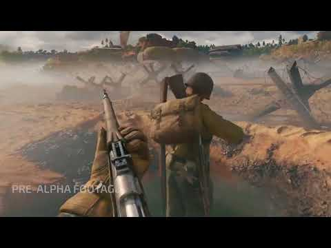 ENLISTED - NORMANDY MOSCOW Map Gameplay - Squad Based WW2 Shooter