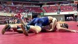 141lbs Ian Parker (Iowa State) vs Ryan Leisure (Iowa State)