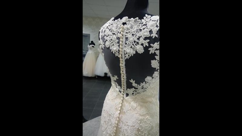 Изящное свадебное платье HB 5019