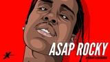 ASAP Rocky (SpeedArt Tutorial) - Procreate App x Dark Series