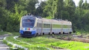 Дизель поезд Д1М 004 на ст Ревака D1M 004 DMU at Revaca station