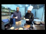 Азербайджанская кухня/Azerbaycan metbexi. Блюдо, приготовленное в Даш-арасы.Шах рлов/Shax plov