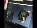 Света сделала анимированную ведьму в Pixel Art. Кодология