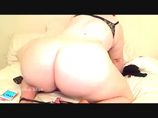 Hayden fucks her bootyhole and hairy bbw pussy then makes that pawg butt tw - big ass butts booty tits boobs bbw pawg curvy matu