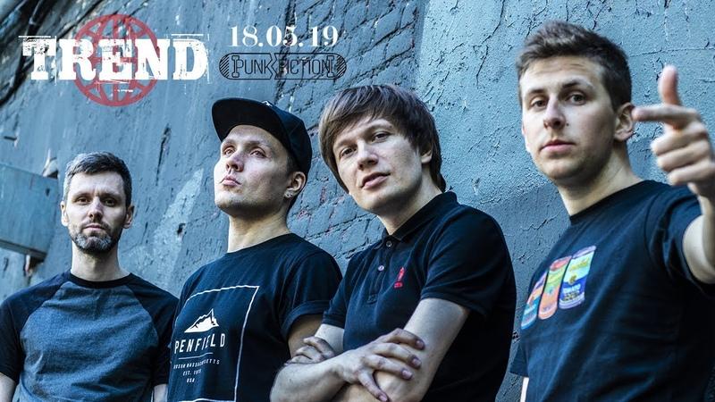 TREND - Live@PunkFiction (18 05 19)