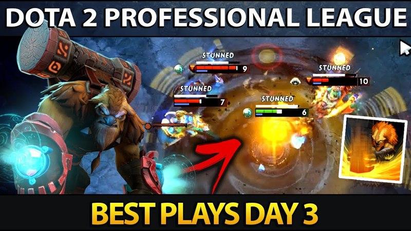 Dota 2 Professional League Season 5 - Best Plays - Day 3