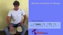Bachata variations for bongo Tutorial by Michael de Miranda
