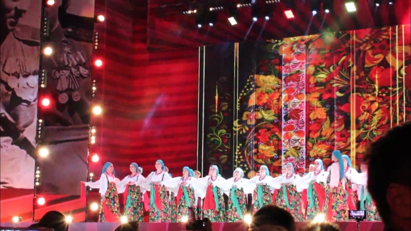 Государственный Академический русский народный хор имени М.Е. Пятницкого - Молодушка молодая