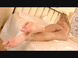 Zuzana D. [HD Porn, Blonde, Foot Fetish, Feet, Solo, Masturbation, Tease, Legs, Stockings, Soles, Toes, Big Tits]