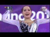 Алина Загитова Олимпийские игры Корея 2018 короткая девочки