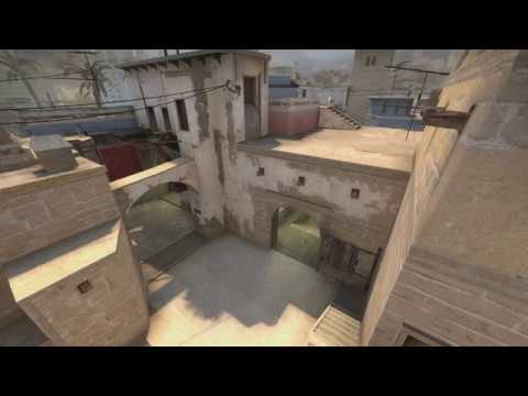 Connector Smoke from T Spawn on de_mirage