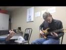 Отрывок соло из песни Весь мир на ладони моей моя игра на электрогитаре