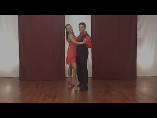 How to dance Bachatango (bachata & tango) Part 1 ENG