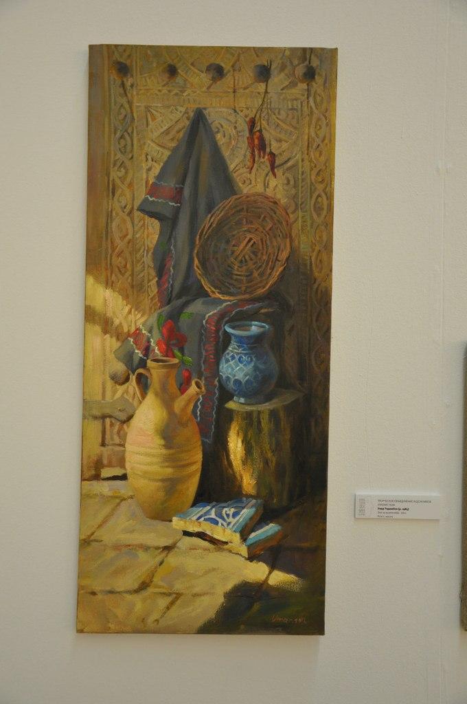 Творческое объединение художников Узбекистана  Умар Раджабов (р. 1985)  Эхо из вселенной. 2011  Холст, масло