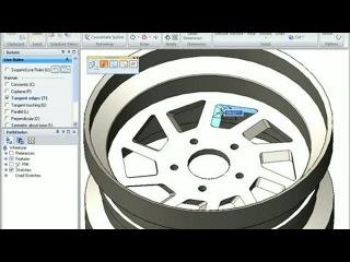 3D-моделирование в САПР Solid Edge (ч.4 со звуком) Парам...