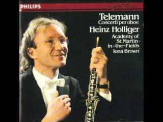 Georg Philipp Telemann. Oboe Concerto in E minor. TWV 51:e1