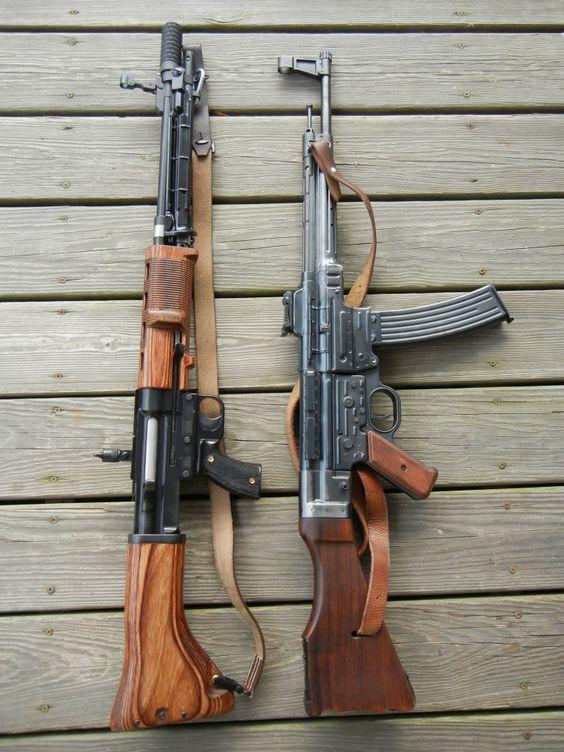 FG-42 (SMG Guns clone) & MP-44 (PTR, PTR-44 clone)