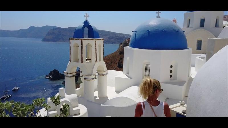 GRECE - Santorin 4k
