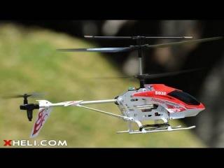 Эта модель обладает большой устойчивостью в полете, даже новичок сможет легко управлять этим вертолетом.