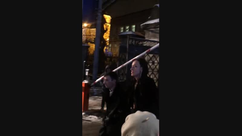 Аида Грифаль на съёмках финальной серии 2