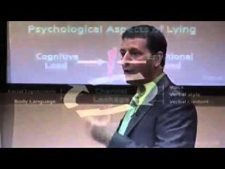 Фрагмент тренинга по теории лжи и психологии эмоций PEI