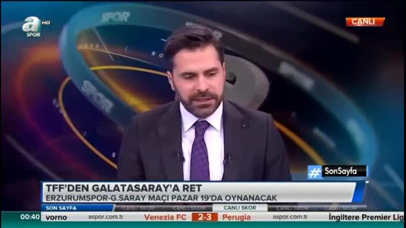 Erzurumspor Galatasaray Maç Saati Tartışması Uğur Karakullukçu Yorumları