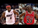 Michael Jordan vs Lebron James - Who's The King?