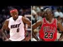Michael Jordan vs Lebron James - Who's The King?
