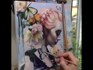 Рисунок талантливой художницы