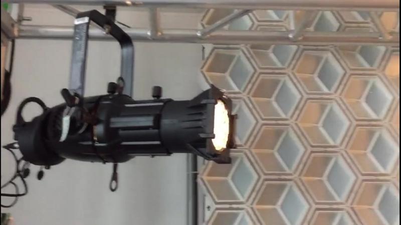 200w PH-LED150 Театральный профильный прожектор с фиксированным углом луча