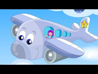 My Aeroplane - Fun animated song for children. Come fly with Little Blue and Debbie Doo!