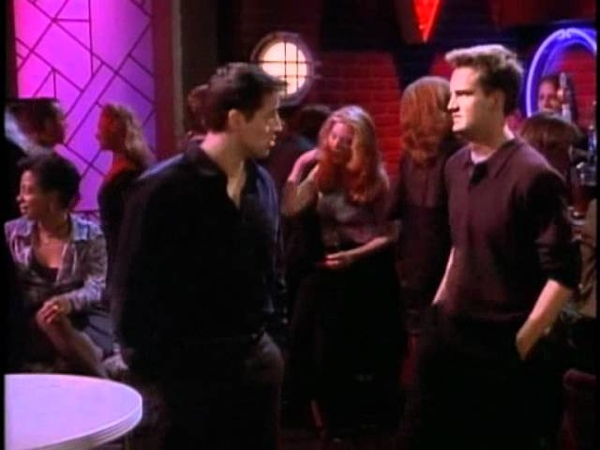 Chandler is in love with Joey's girlfriend