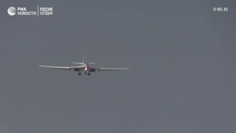 Перелёт Ту-160, Ан-124 и Ил-62 российских ВКС в Венесуэлу