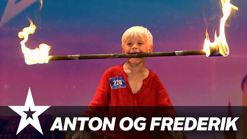 Anton og Frederik I Danmark har talent 2018 I Audition 2