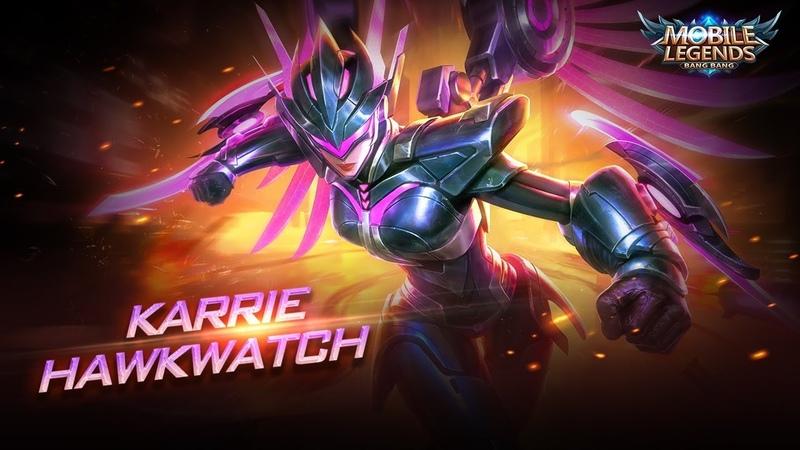 Karrie new skin Hawkwatch Mobile Legends Bang Bang