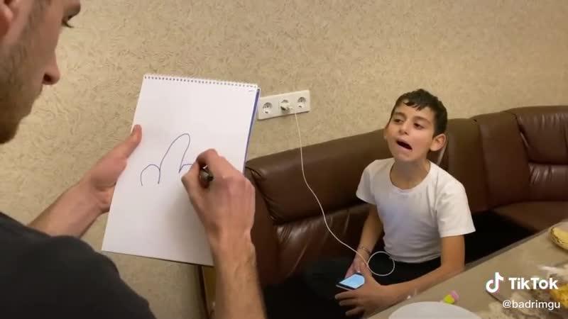 Нарисовал брата.. | #TikTok (видео приколы)