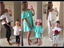 ملابس الام وبنتها اجمل إطلالات الأمهات مع 1
