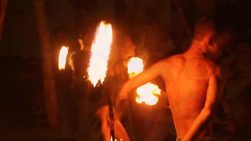 Перфоманс от Театра пластики и огня